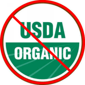 USDA Organic and carrageenan dangers