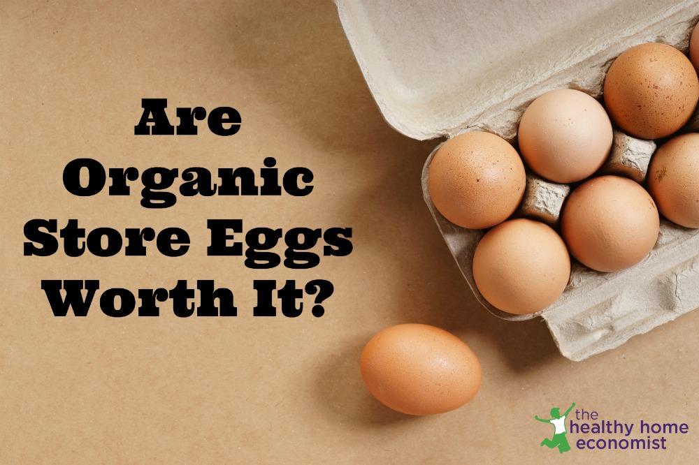 organic store eggs
