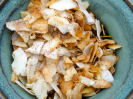 coconut chips, snack chips recipe