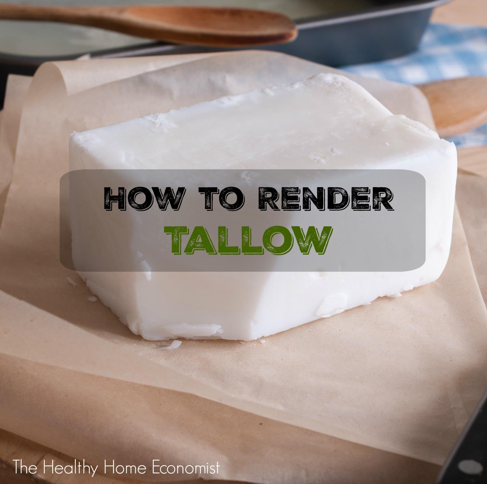 beef tallow