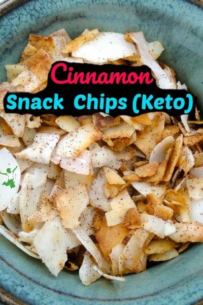 keto cinnamon snack chips