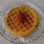Sprouted Belgian Waffles Recipe