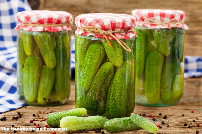 The Crucial Difference Between Pickled And Fermented