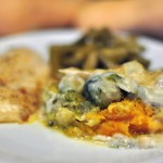 sprouts and squash casserole