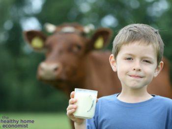 raw milk allergy free