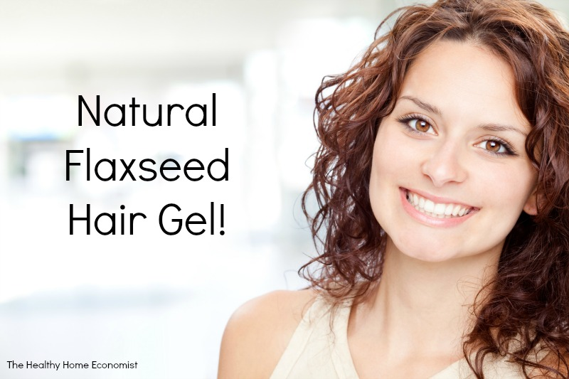 recipe for natural flaxseed hair gel