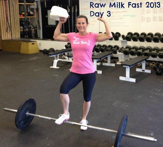 Raw milk muscles