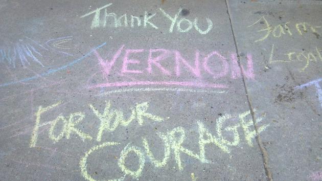Vernon's courage