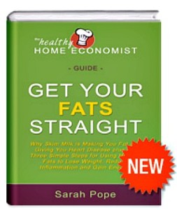 Get Your Fats Straight