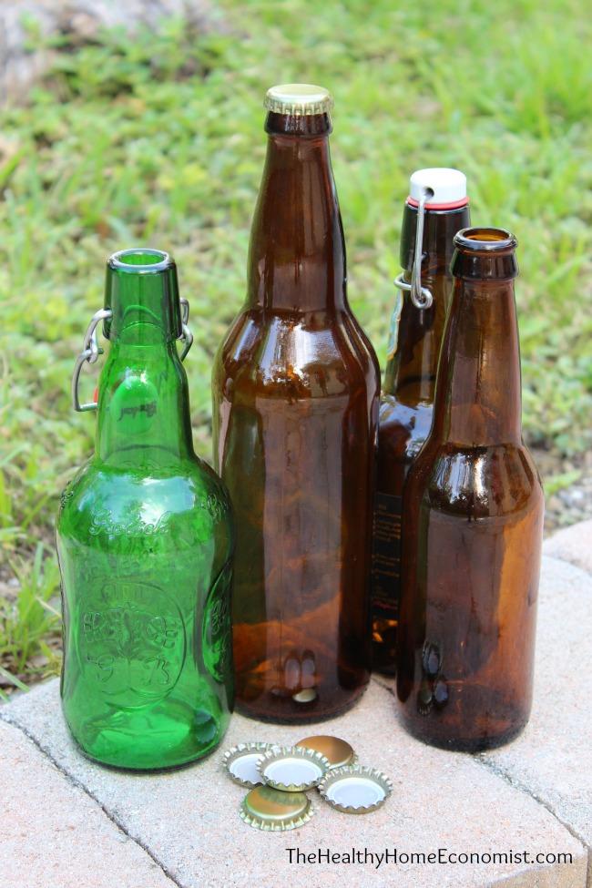 homemade soda bottles
