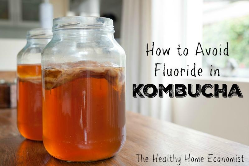 fluoride in kombucha
