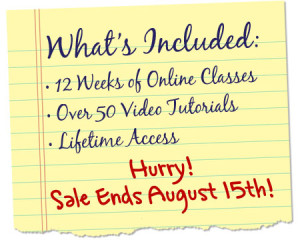 sale ends August 15