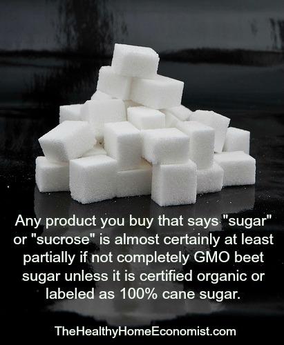 GMO sugar scam