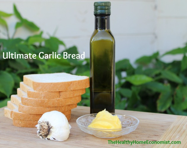 garlic bread recipe, homemade garlic bread