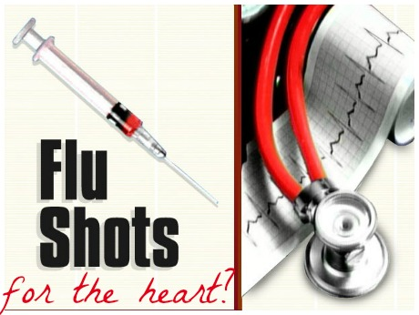 flu shots for the heart