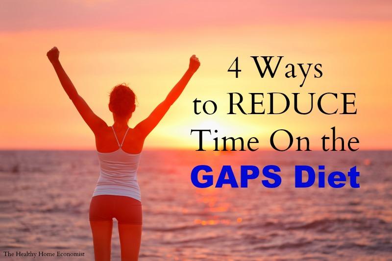 reduce time on GAPS