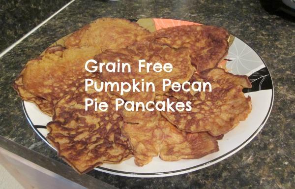 Pumpkin Pecan Pie Pancakes