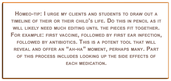 homeopathy tip