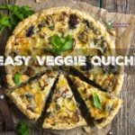 Easy Homemade Quiche Recipe (made with veggie leftovers!)