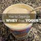 whey from yogurt