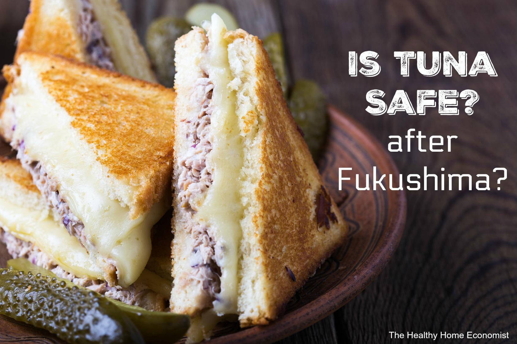 tuna safe after fukushima