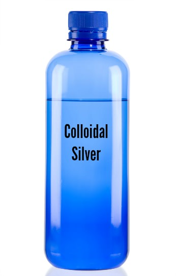 colloidal silver bottle