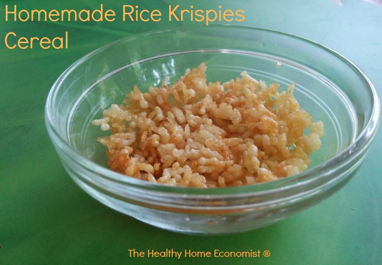 homemade rice krispies