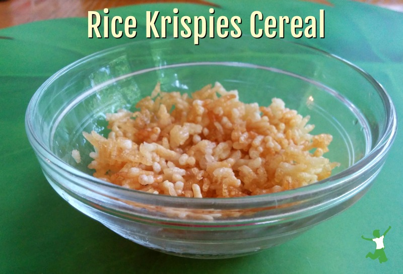 homemade rice krispies in a bowl