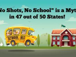 The Myth of Mandatory School Vaccinations