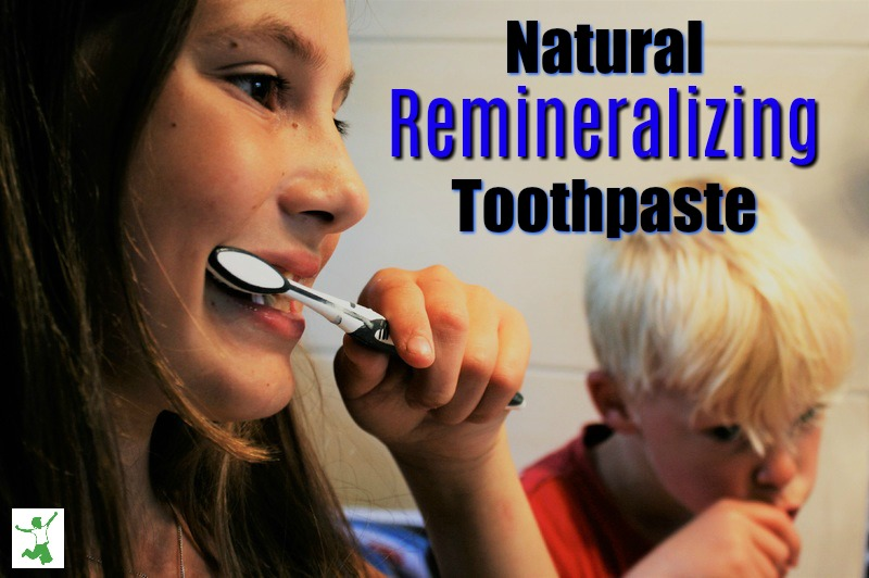 natural remineralizing toothpaste