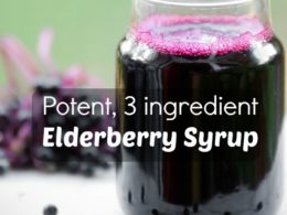 Simple Homemade Elderberry Syrup Recipe