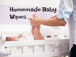 Reusable Organic Baby Wipes Recipe