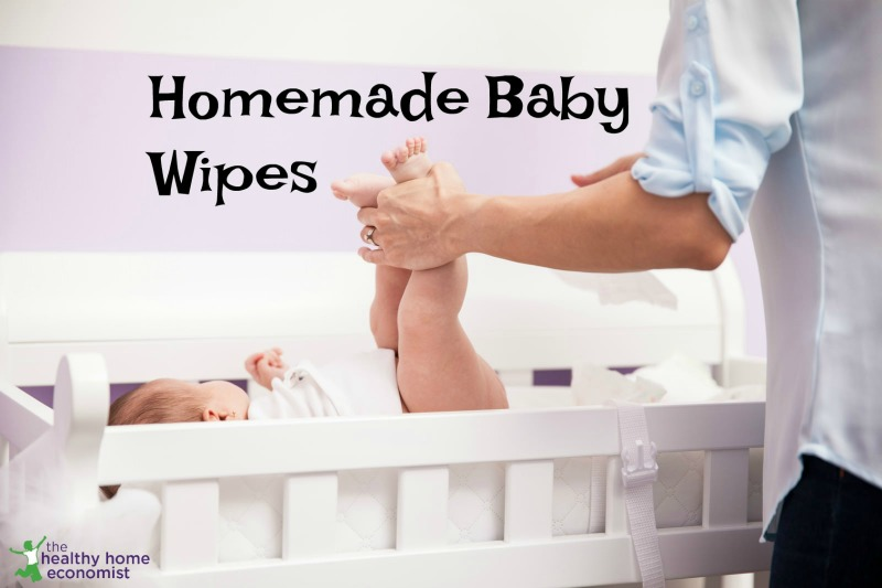 homemade organic baby wipes