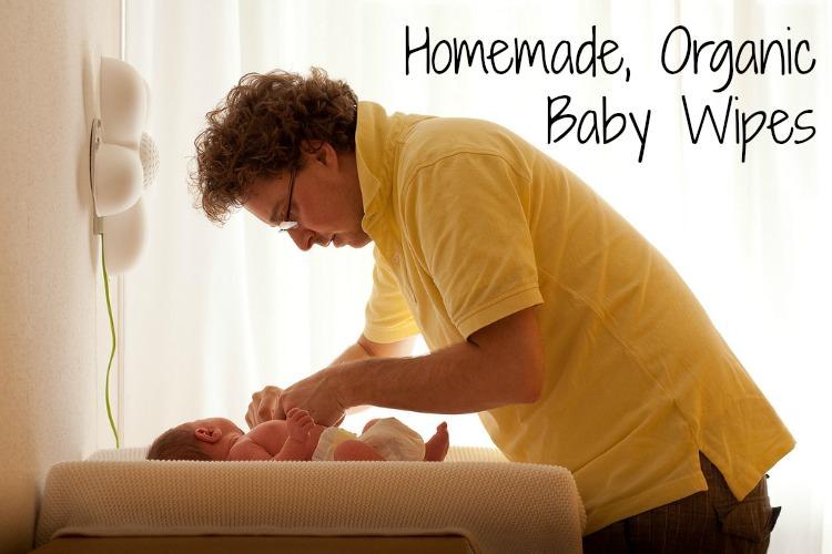 homemade organic baby wipes
