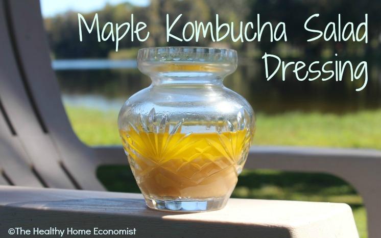 kombucha salad dressing