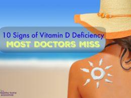 10 Vitamin D Deficiency Symptoms Many Doctors Miss