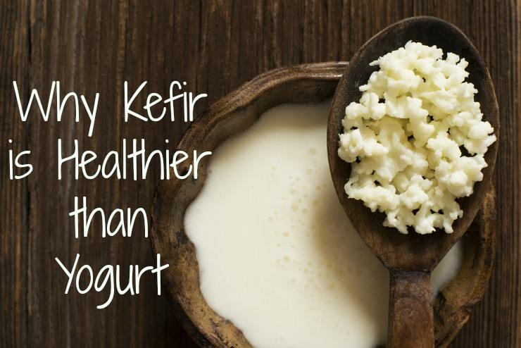 kefir is healthier than yogurt