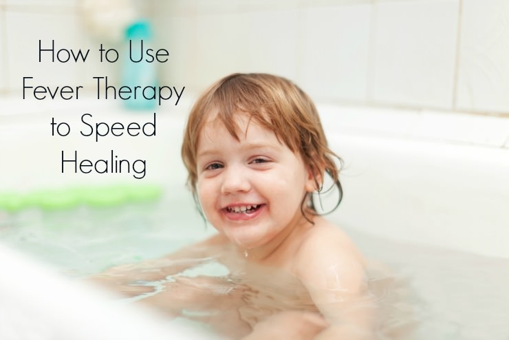 fever bath to speed healing