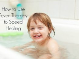Using a Fever Bath to Hasten Healing