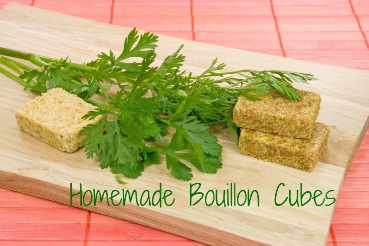 healthy homemade bouillon cubes