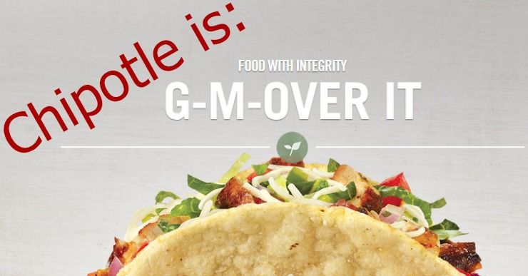 Chipotle food is GMO free