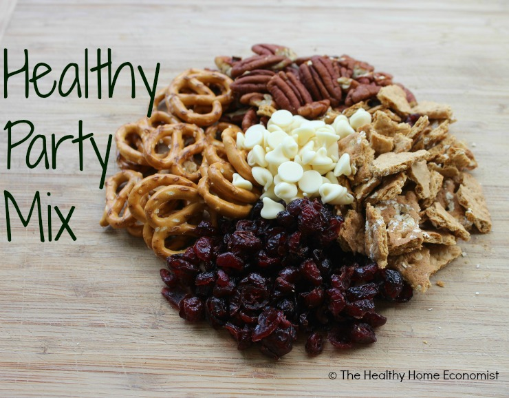 healthy party mix ingredients