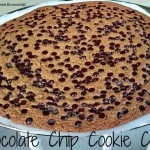 REAL Chocolate Chip Cookie Cake
