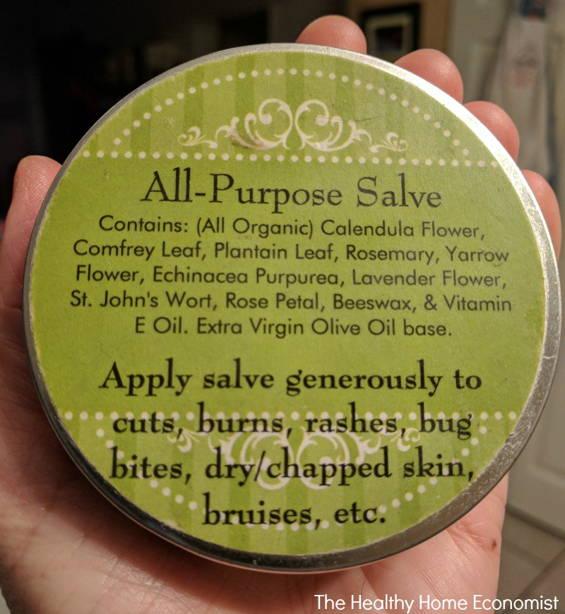 All Purpose Herbal Comfrey Salve Recipe The Healthy Home