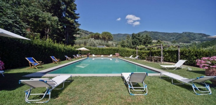 Everyone's favorite spot! The solar-heated pool is fed by a local spring from the surrounding mountains.