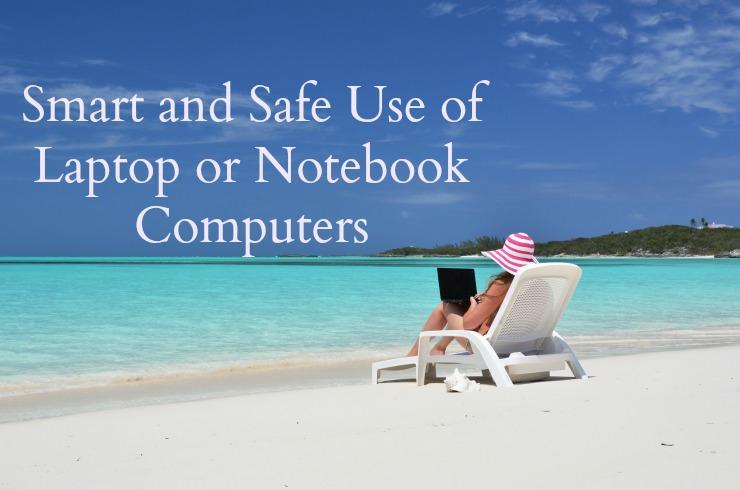 safe laptop use without EMF overexposure