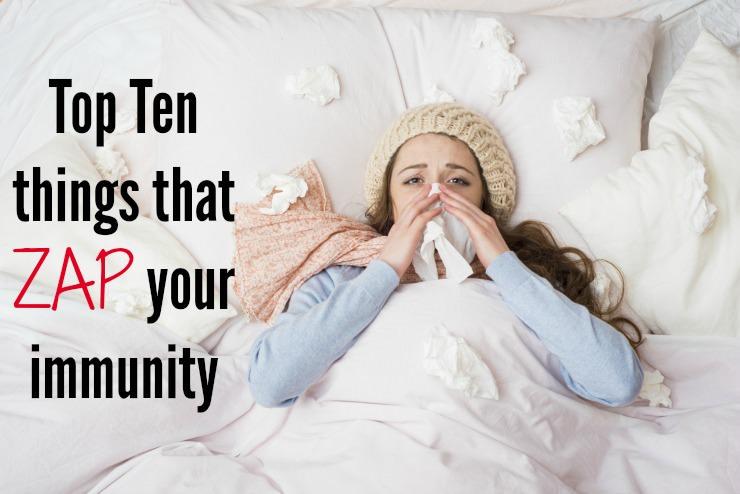 ten immunity killers