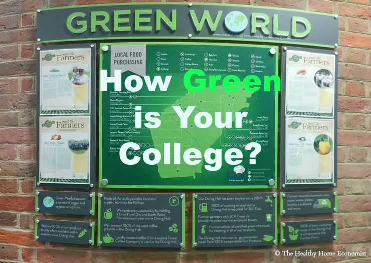 How Green is Your College?
