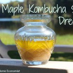 Maple Kombucha Salad Dressing