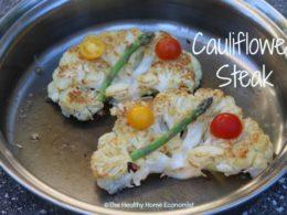 Buttery Cauliflower Steak Recipe 1
